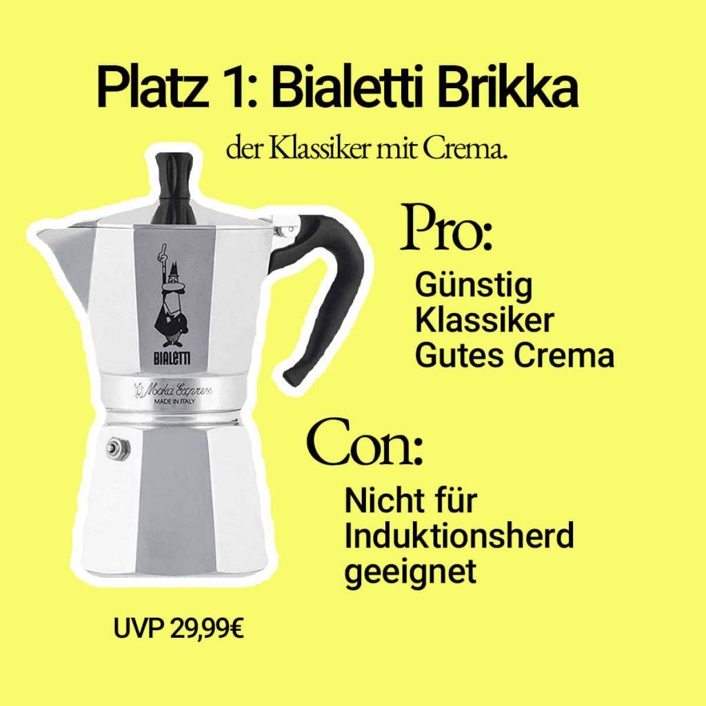 Espressokocher Bialetti Brikka