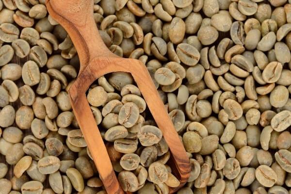 Gruener Kaffee Bohnen
