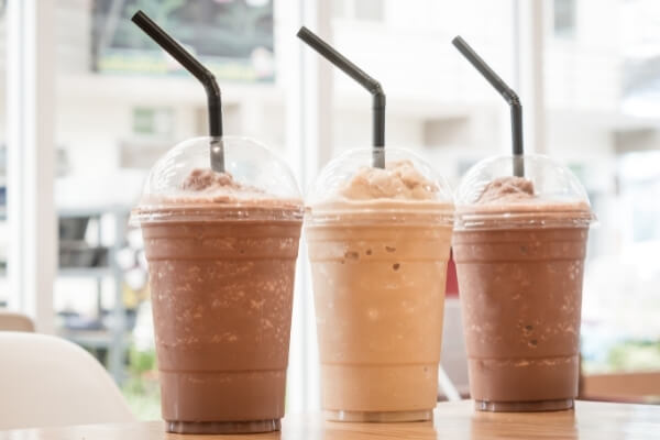 Frappé - eine von vielen Kaffeespezialitäten