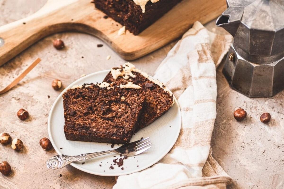 Schokoladen Eiskaffee-Kuchen