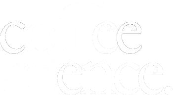 Coffee Science Logo white